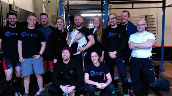 Team RevFit Powerlifting after our last comp in October 2016