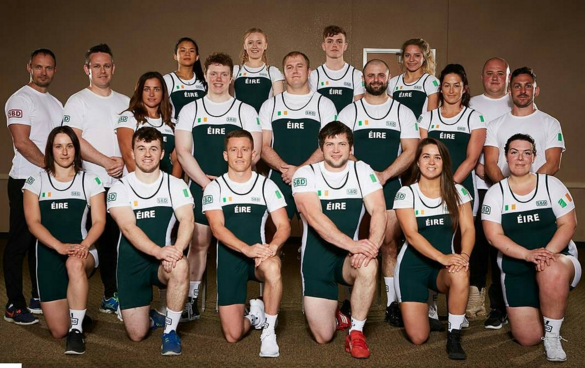 The Irish Powerlifting Federation's National Team