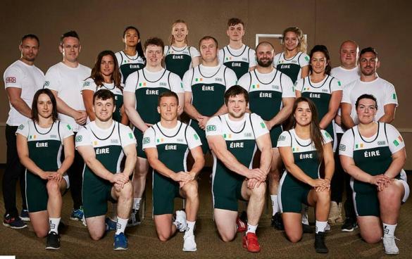 The Irish Powerlifting Federation's National Team