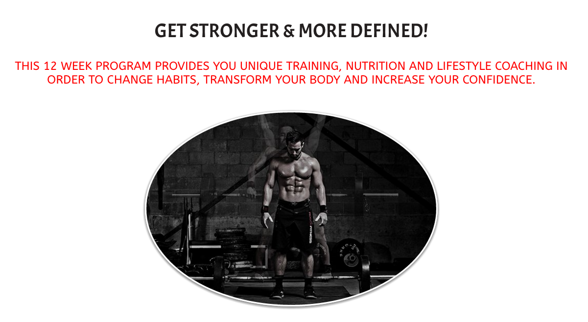 Click the picture to find out more about our guys strength program